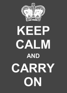 Keep calm and carry on post Brexit decision